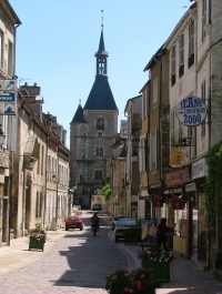 Avallon - Tour de l'horloge